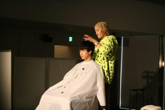 OCEAN TOKYO 鎌形諒さんが来校しました。
